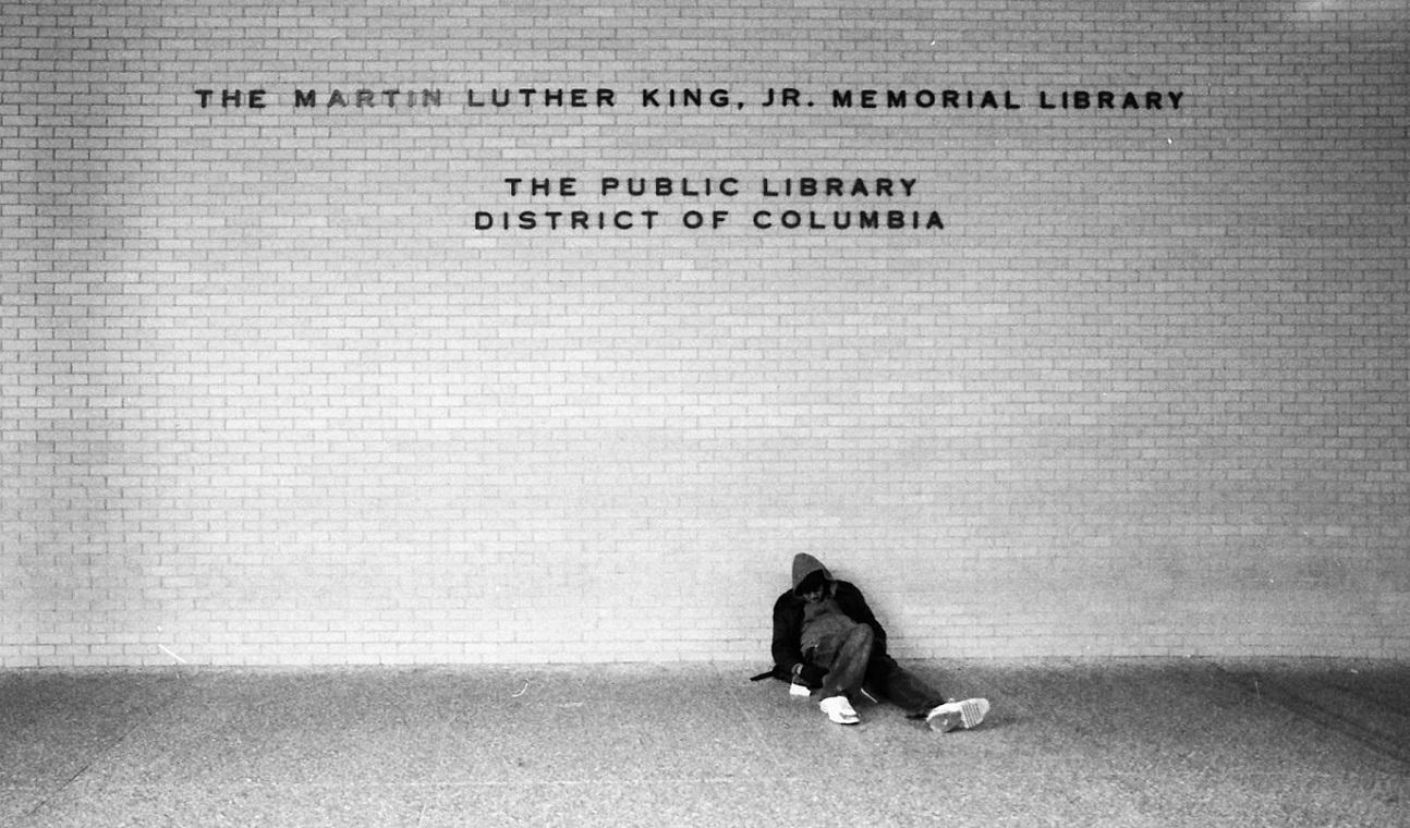 Martin Luther King Library in Washington DC. Aufgenommen von Alex Barth 2008.