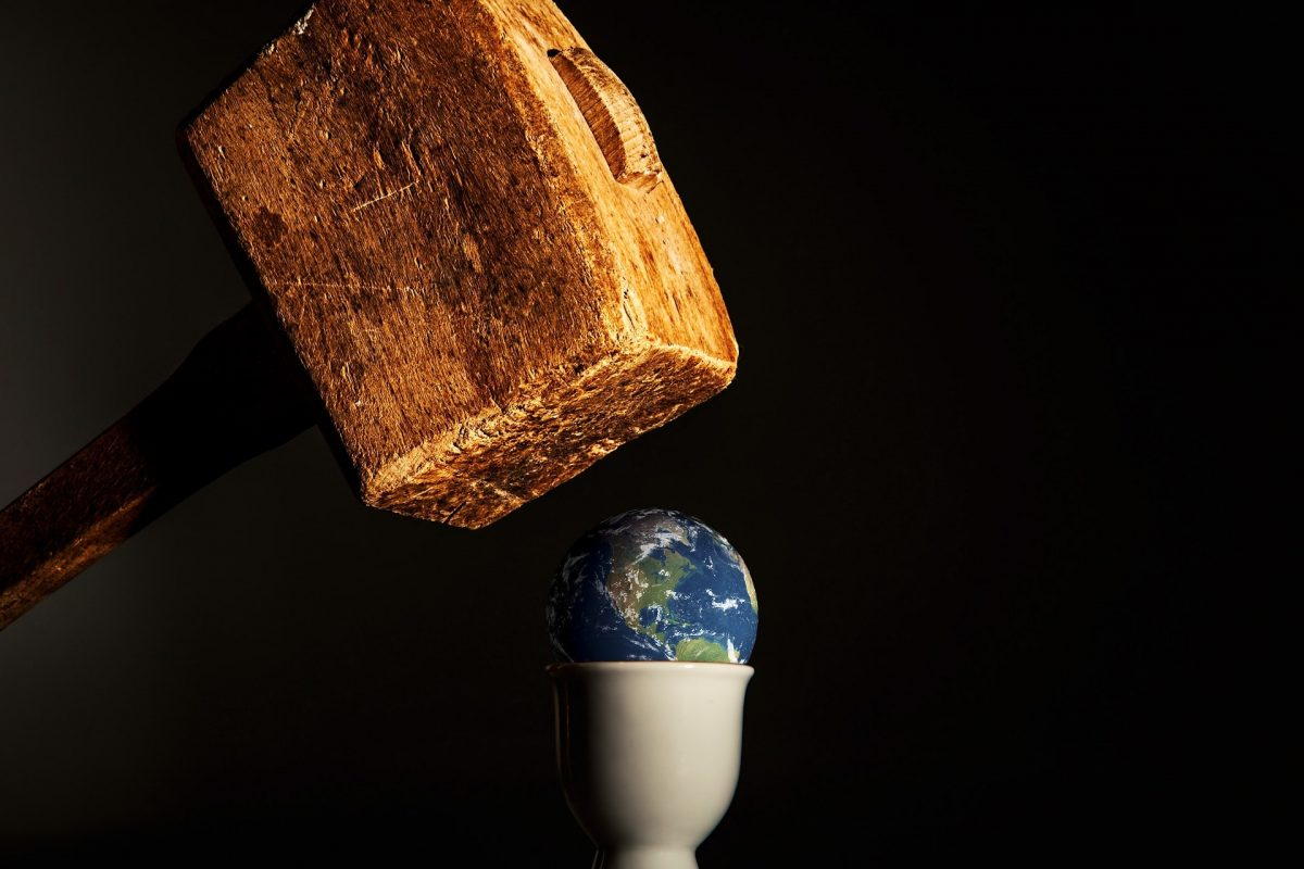 Entweder kommt eine Universelle Menschliche Nation oder wir verschwinden von der Bildfläche.