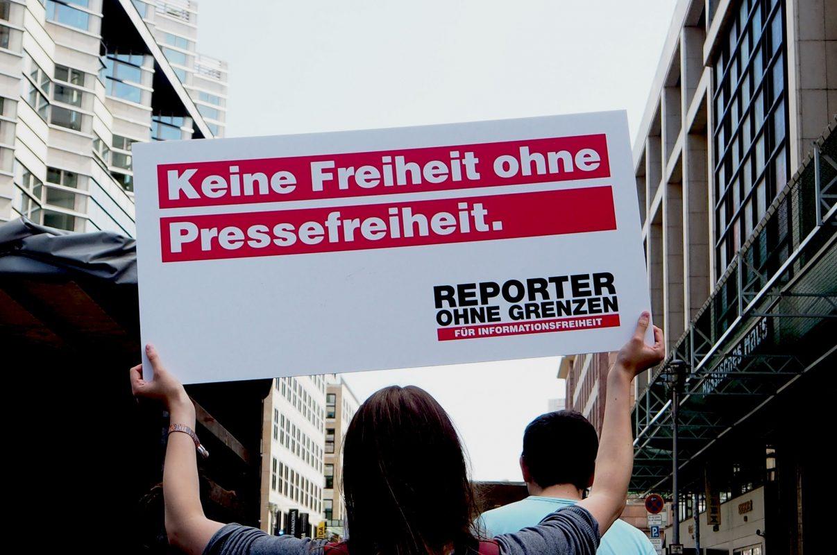 Keine Freiheit ohne Pressefreiheit.