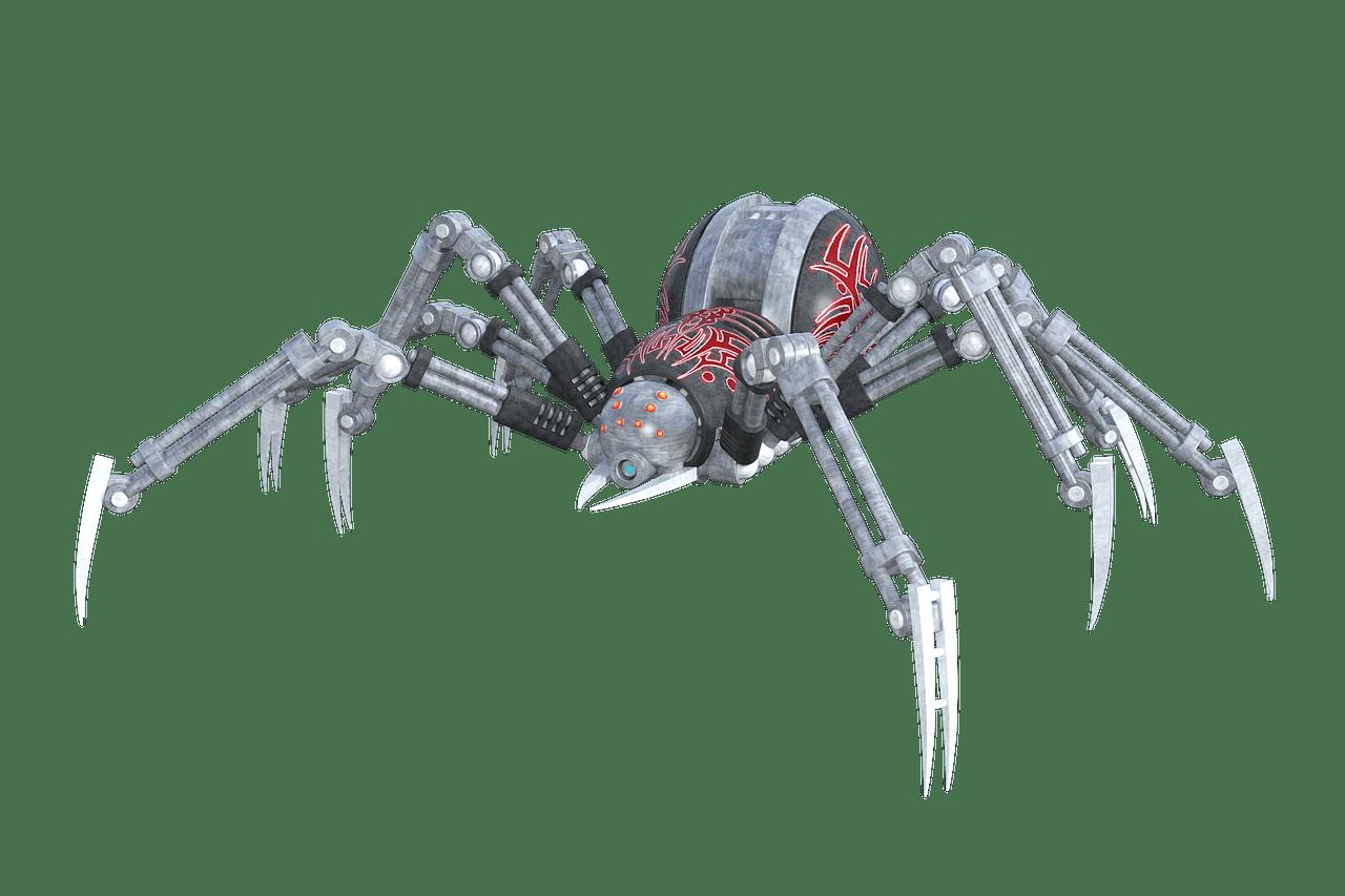 Robotik - Spinne - Pete Linforth (pixabay.com) - Creative Commons CC0