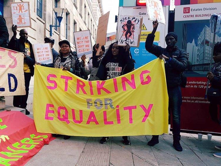 Boss, mach deinen Dreck selbst weg: Die Cleaner werden an Londons Elite-Uni streiken