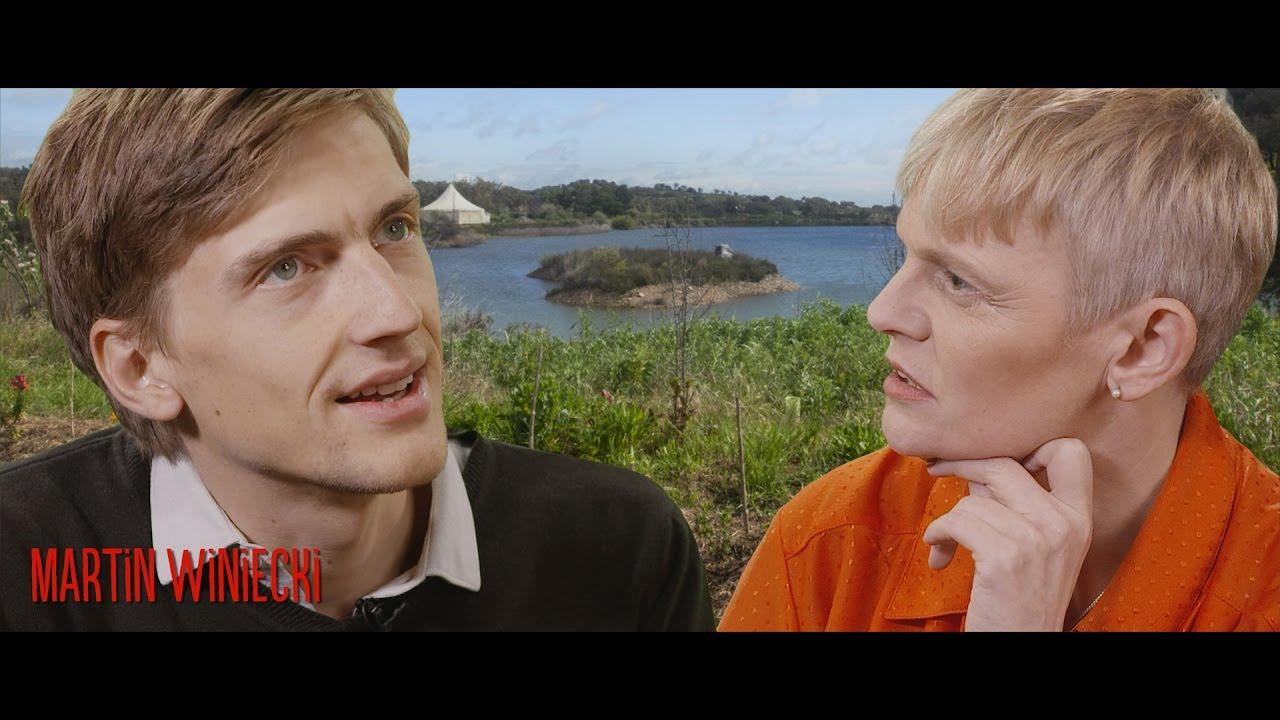 Martin Winiecki (Tamera) und Bilbo Calvez im Gespräch für die Bärensuppe.