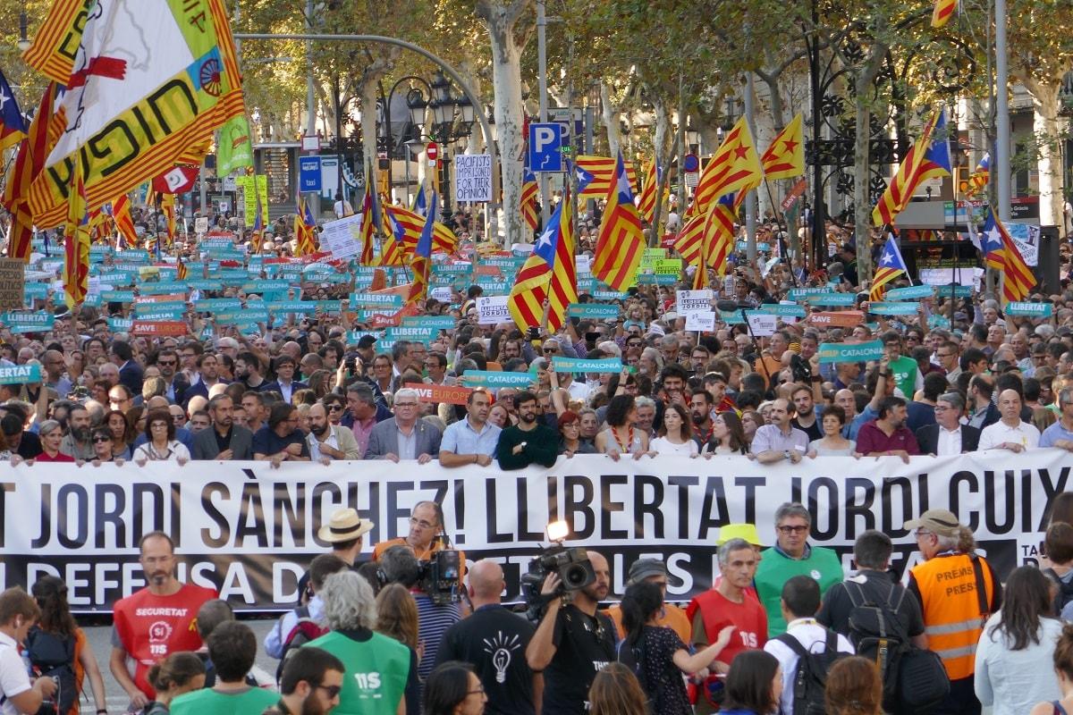 """Katalonien: """"Die friedliche Revolution stellt die Verhältnisse auf den Kopf."""""""