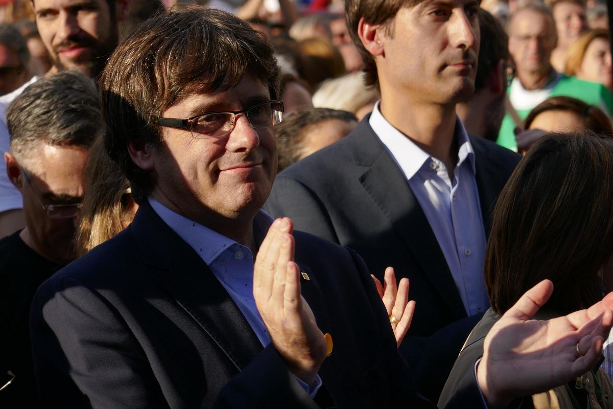 Carles Puigdemont im Oktober 2017. (Foto: Krystyna Schreiber)