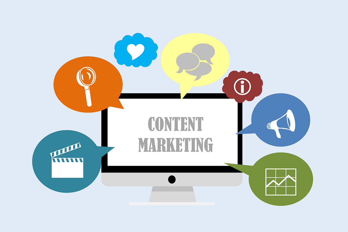 Content und SEO Marketing. (Illustration: Tumisu, Pixabay.com; Creative Commons CC0)