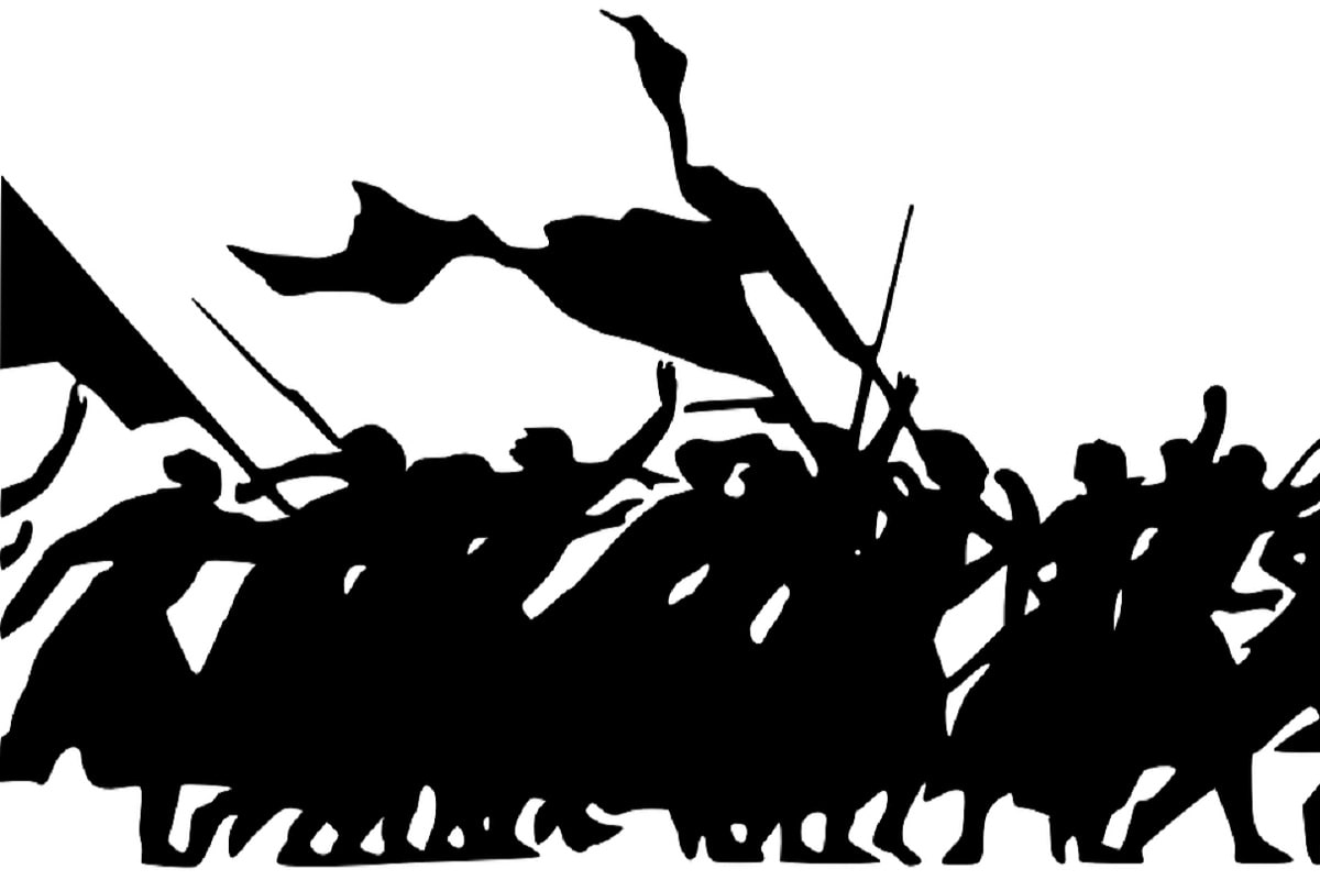 Revolution. (Illustration: Clker-Free-Vector-Images, Pixabay.com, Creative Commons CC0)
