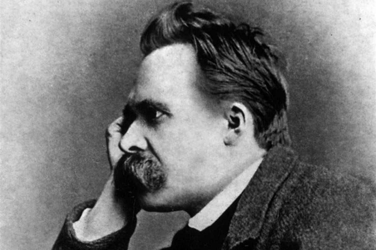 Friedrich Nietzsche 1882. (Foto: Gustav Adolf Schultze;Wikipedia, Gemeinfrei)