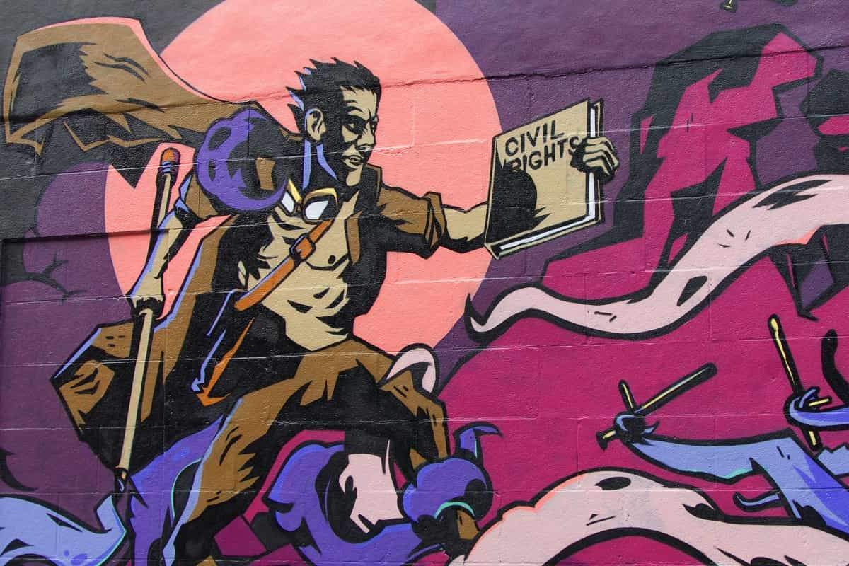 Wandbild in Montreal Kanada. (Foto: Pascal Bernardon, Unsplash.com)