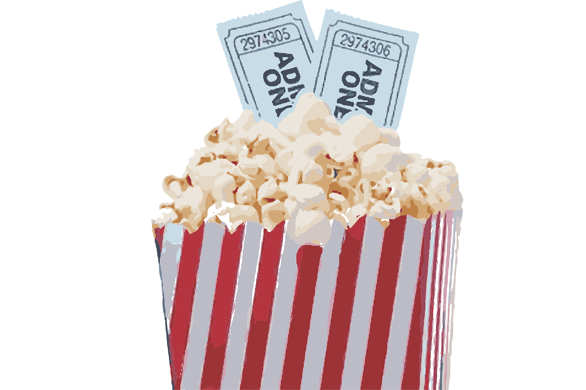 Popcorn zum TV. (Illustration: Agoss, Pixabay.com, Creative Commons CC0)