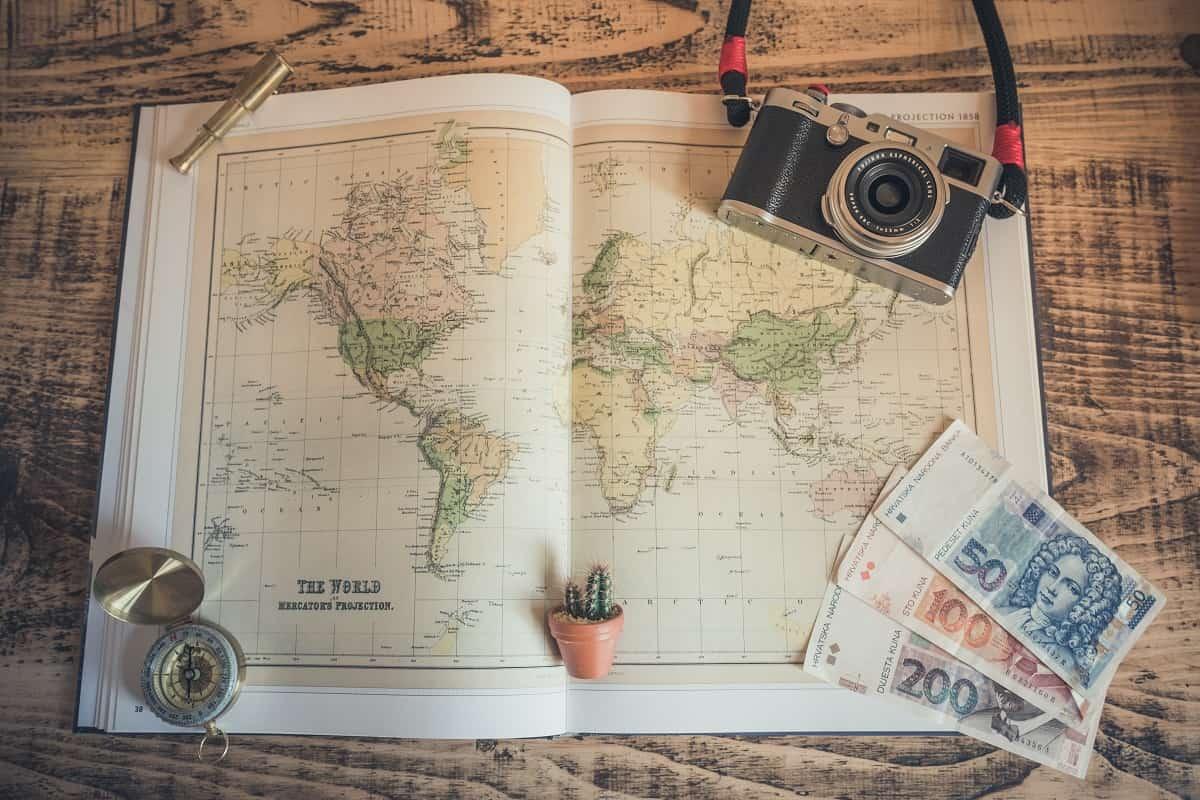 Reisen ohne Kompass