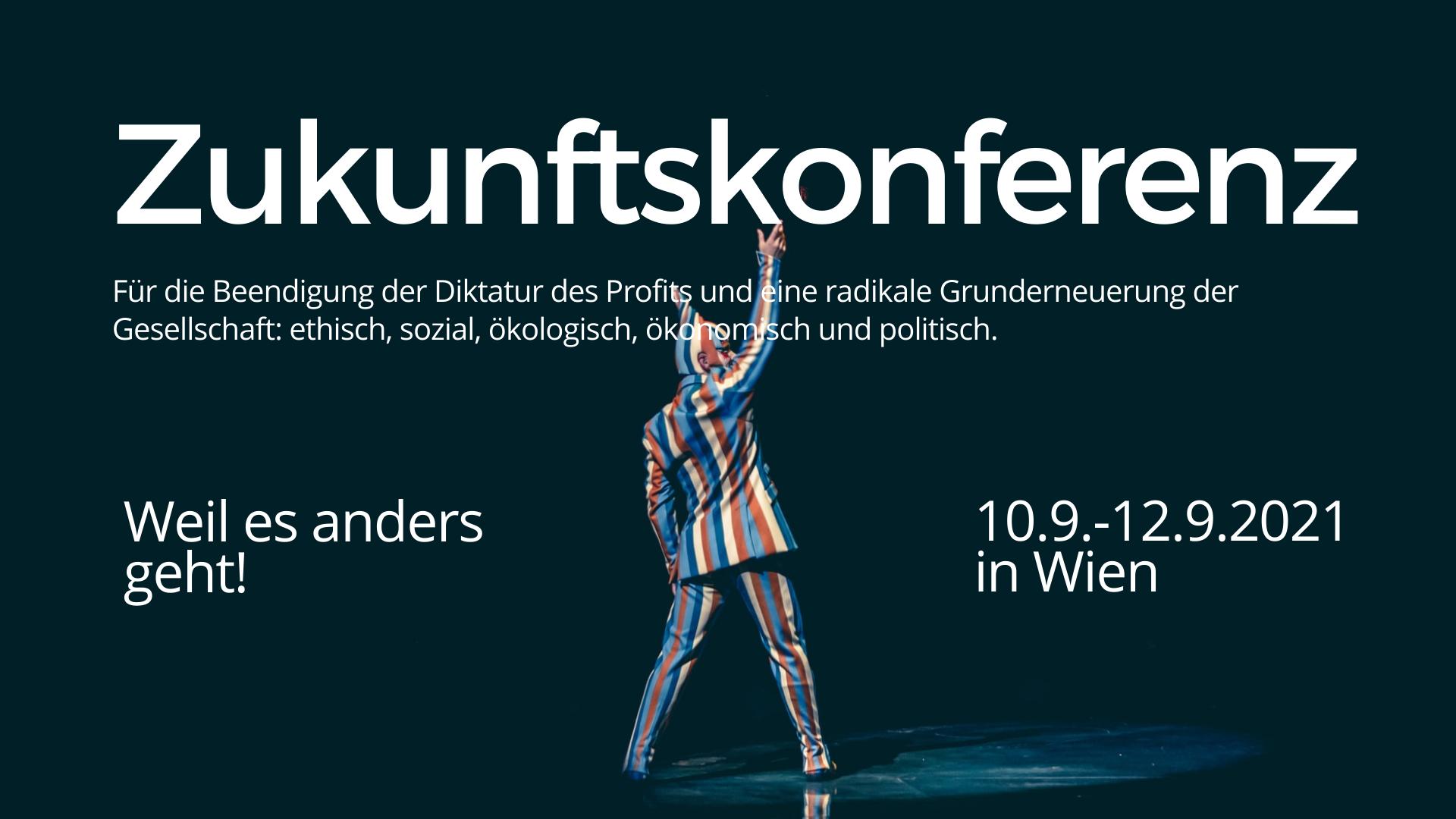 Zukunftskonferenz 2021 in Wien